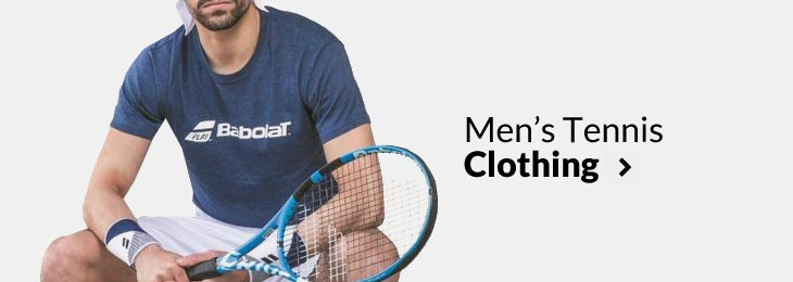 Mens Tennis Clothing
