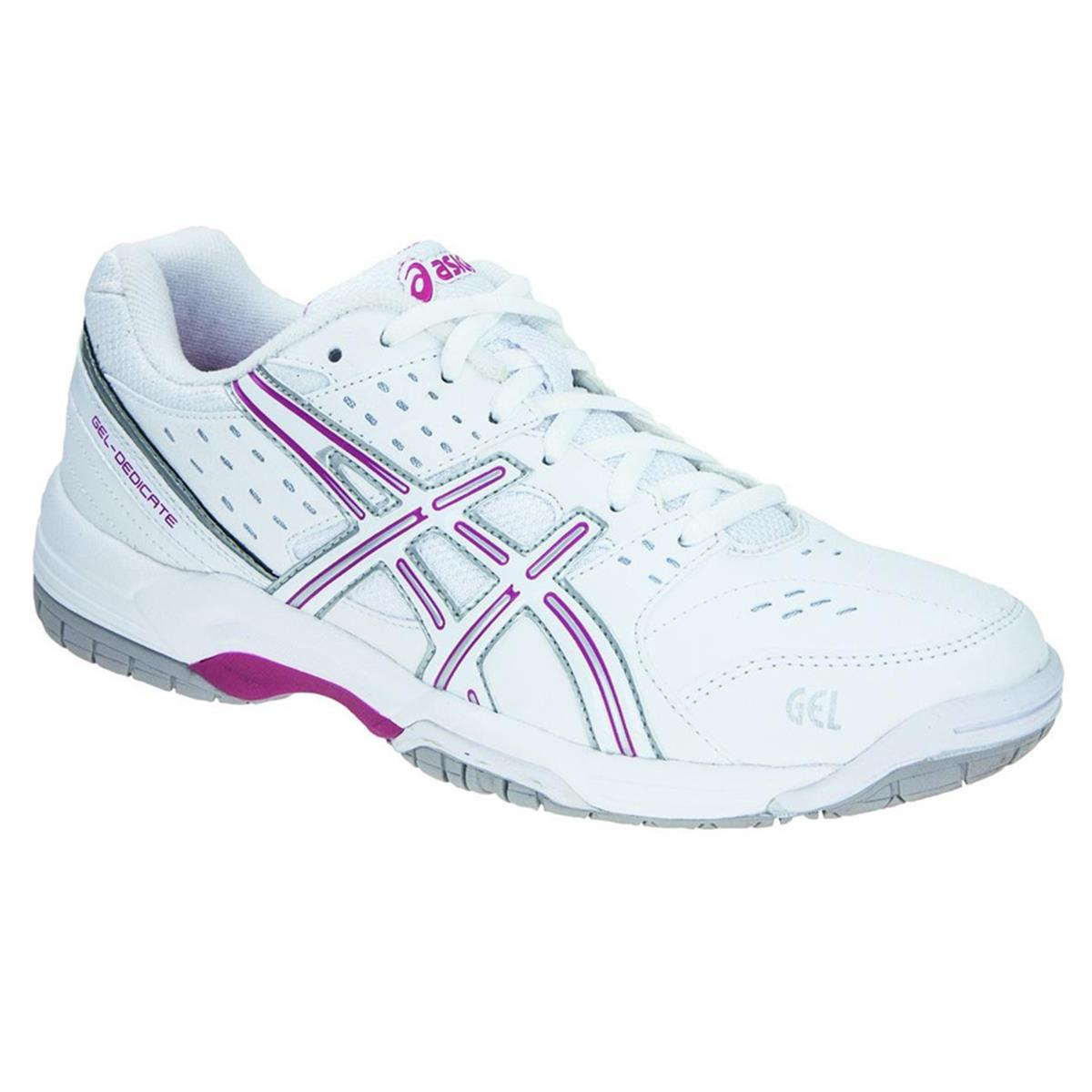 asics gel dedicate 3 court womens tennis shoes by