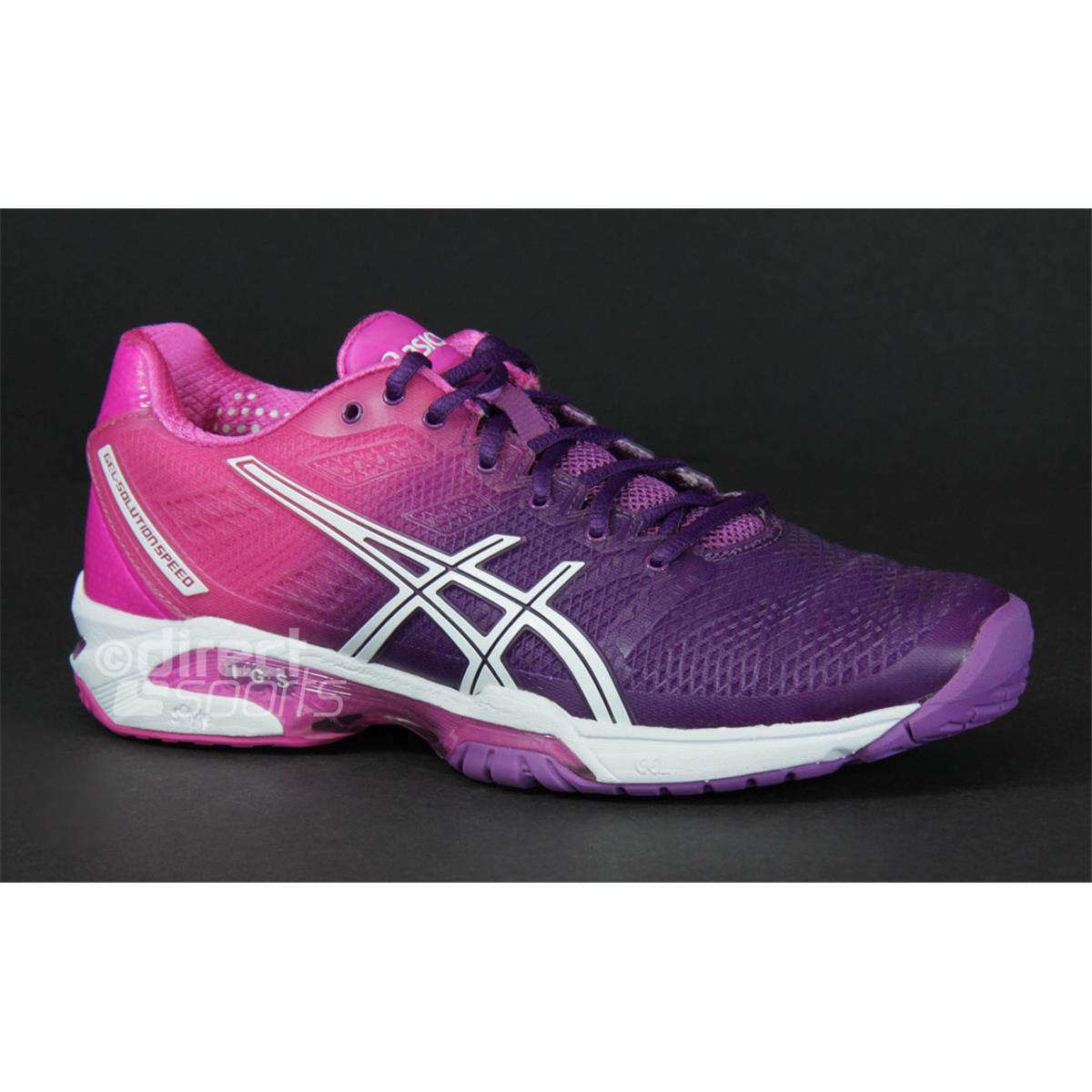 womens asics solution speed tennis shoes