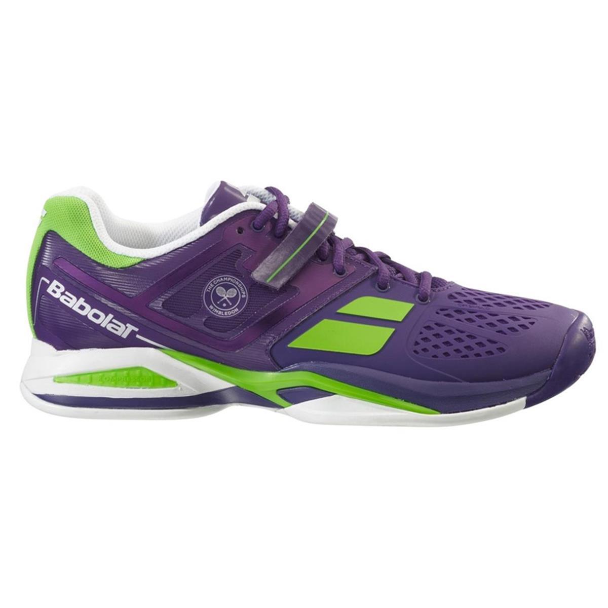 babolat propulse wimbledon junior tennis shoe by directtennis