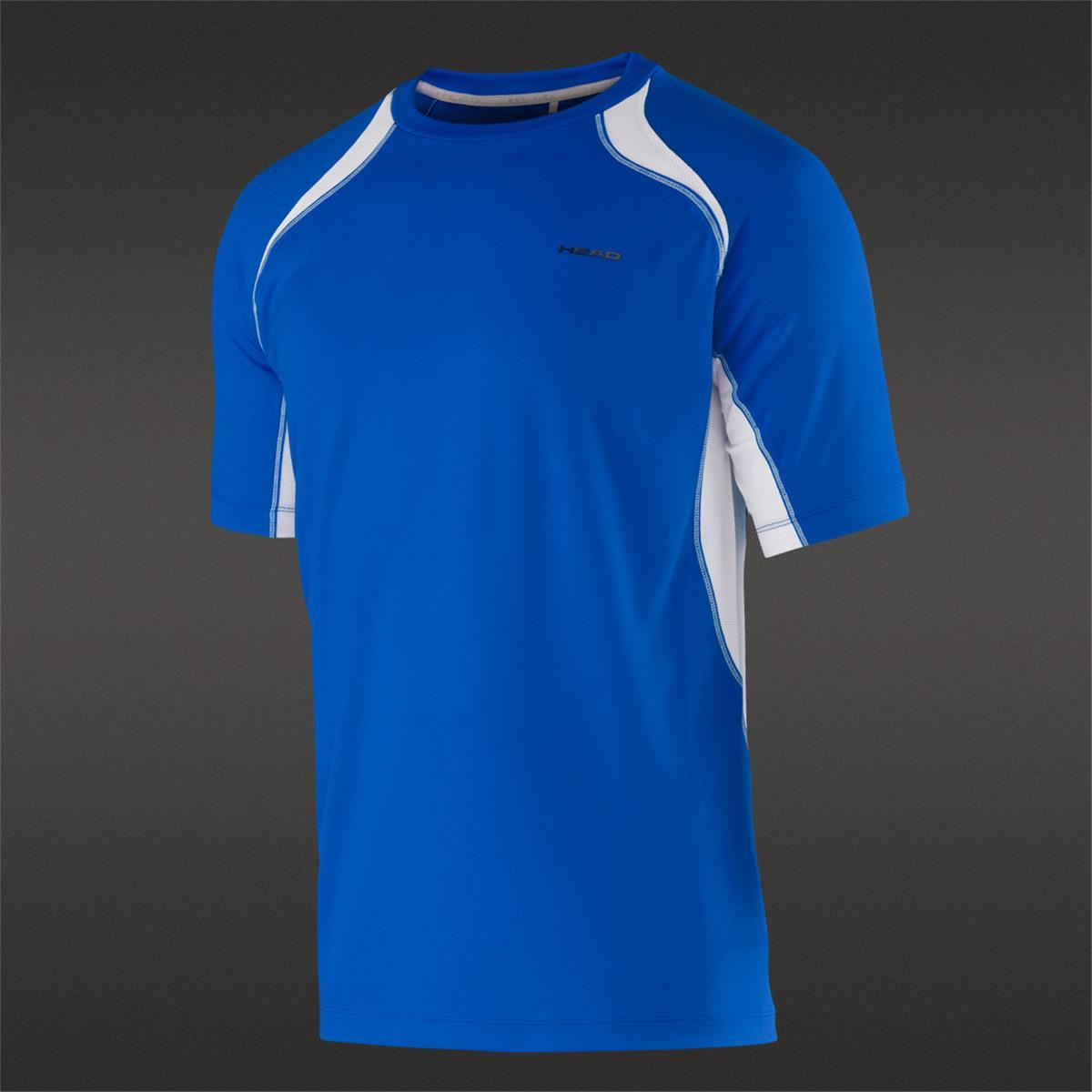 Head Boys Club Technical T Shirt Torch Tshirt Women Blue Black Navy M