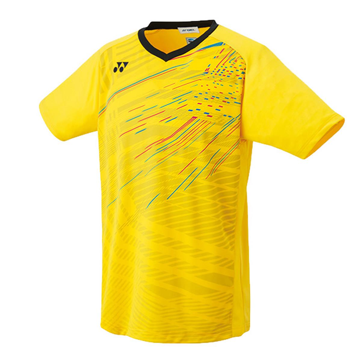 Yonex 10216ex Mens Game Shirt Yellow Direct Tennis