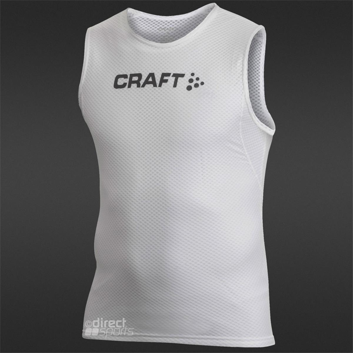 Craft cool mesh superlight sleeveless top mens logo for Craft cool mesh superlight headband
