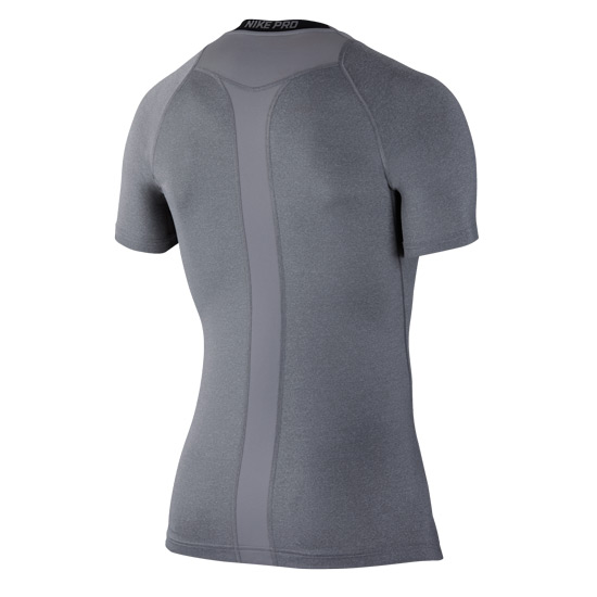 Nike Pro Mens Compression Top (Grey)