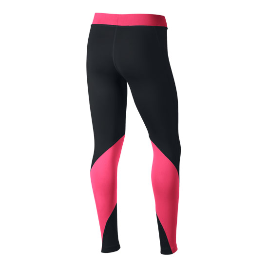Nike Pro Girls Tights (Black-Pink)
