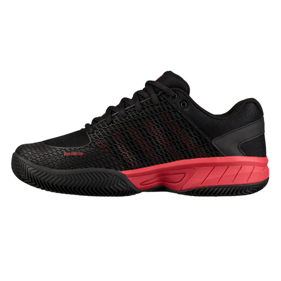 K-Swiss Express Light HB Mens Tennis Shoes (Black-Lollipop)