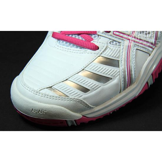 check-out 9d578 6ed8f Asics Gel Challenger 9 Womens Tennis Shoes (White-Fuscia) | Direct Tennis