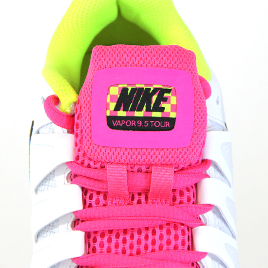 Nike Zoom Vapor 9.5 Tour Womens Tennis Shoes (White Pink)   Direct Tennis