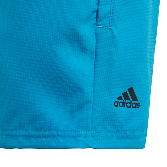 Adidas Boys Club Shorts (Shock Cyan)
