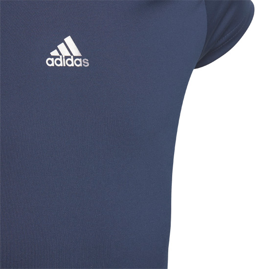 Adidas Ribbon Girls Tee (Navy)