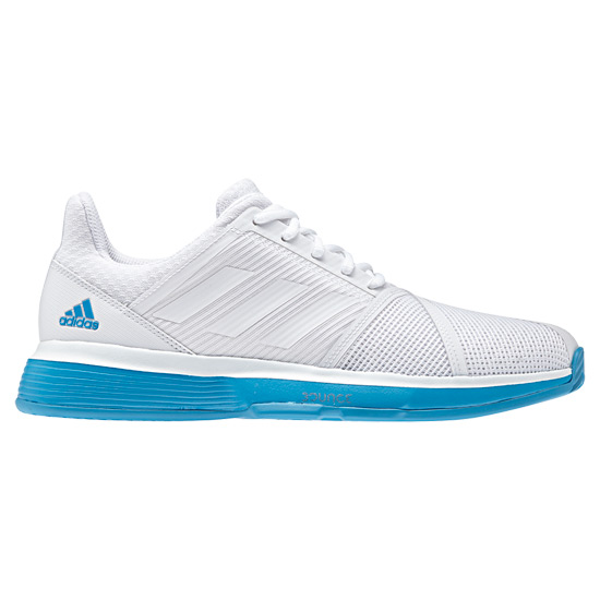 Adidas Court Jam Bounce Mens Tennis Shoes (White) | Direct Tennis