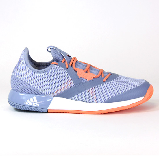 Adidas Adizero Defiant Bounce Womens Tennis Shoes (Chalk Blue)
