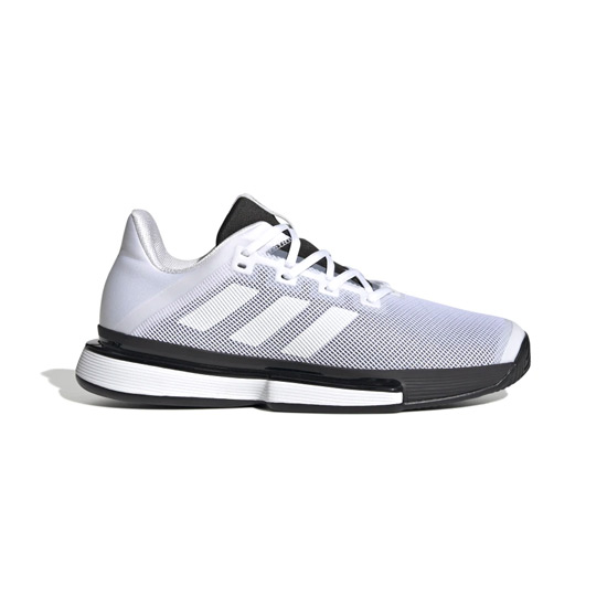 Adidas Solematch Bounce Mens Tennis Shoes (White)