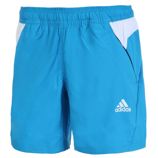 Adidas Bt Womens Shorts Solar Blue Direct Tennis