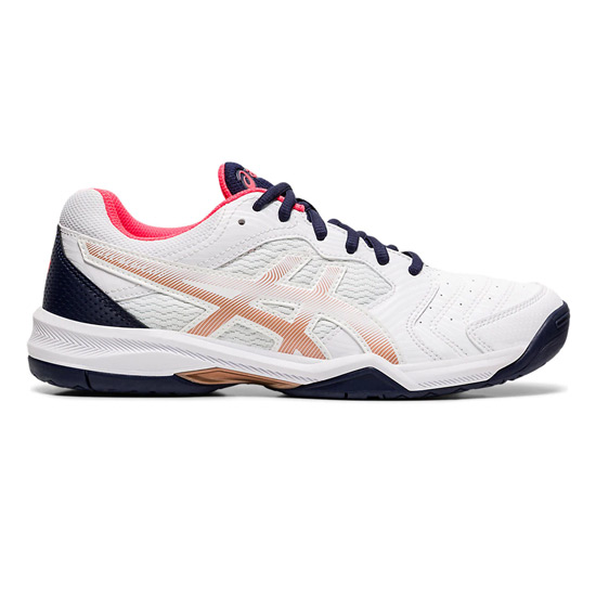 Asics Gel Dedicate 6 Womens Tennis Shoes (White)