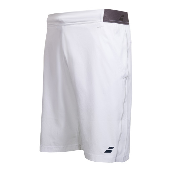 Babolat Wimbledon Performance X-Long Boys Shorts (White)