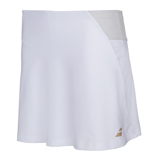 cb275f8636 Babolat Performance Womens Long Skirt (White) | Direct Tennis