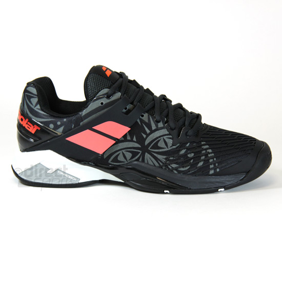 Babolat Tennis Shoes >> Babolat Propulse Fury All Court Mens Tennis Shoes Tribal Black Direct Tennis