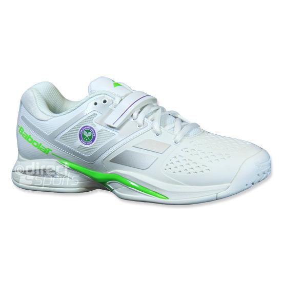 innovative design 296ca f866e Babolat Propulse BPM Wimbledon Mens Tennis Shoes