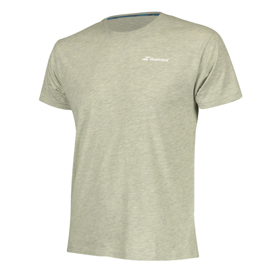Babolat Core Boys Tee (High Rise Heather)
