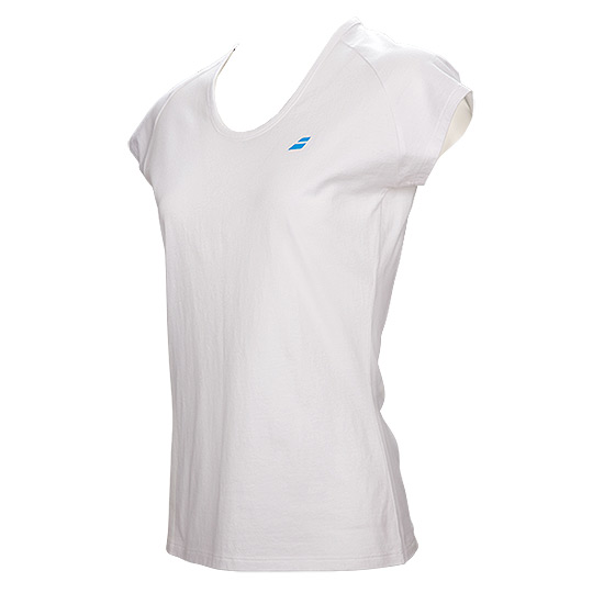 Babolat Core Girls Tee (White)
