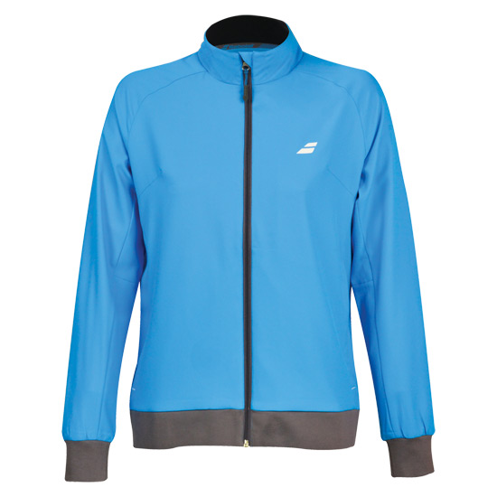 Babolat Core Club Girls Jacket (Diva Blue)