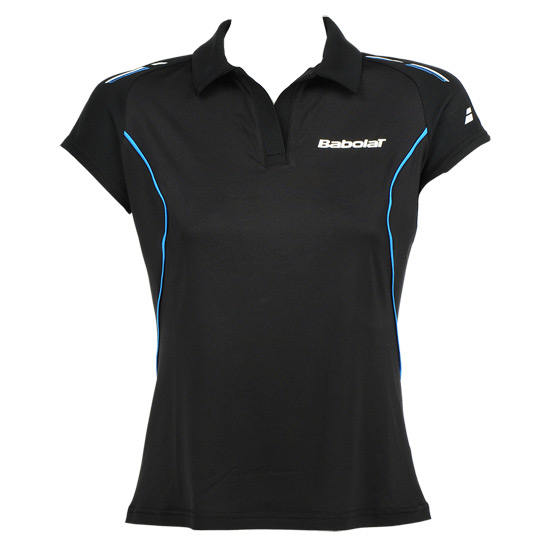 Babolat Match Core Girls Polo Shirt (Black)