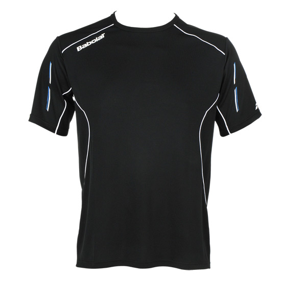 Babolat Match Core Boys Tee-Shirt (Black)