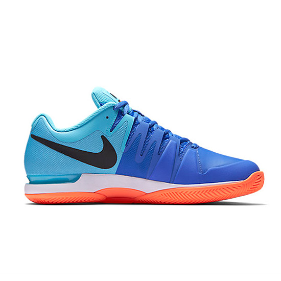 Nike Zoom Vapor 9.5 Tour Clay Mens Tennis Shoes (Blue) | Direct Tennis