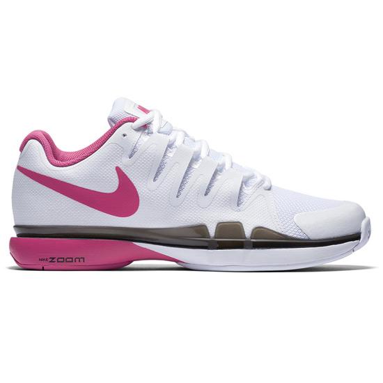 super popular 083f1 acf54 Nike Zoom Vapor 9.5 Tour Womens Tennis Shoes (White-Pink Blast)