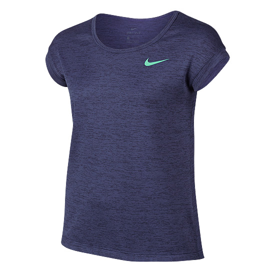 Nike Girls Training T-Shirt (Purple)