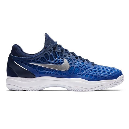 58b3893981 Nike Zoom Cage 3 Mens Tennis Shoes (Midnight Navy) | Direct Tennis