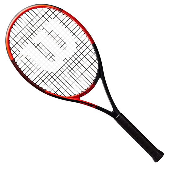 Wilson BLX Fierce Tennis Racket (Black-Orange)