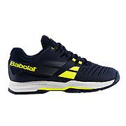Babolat SFX All Court Mens Tennis Shoes (Blue-Yellow) ab67e909c20