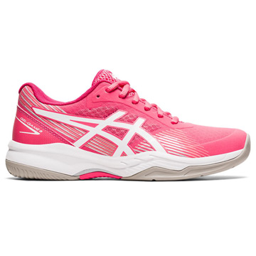 Asics Gel Game 8 Womens Tennis Shoes (Pink Cameo-White)