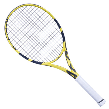 Babolat Pure Aero Lite Tennis Racket (Yellow-Black)