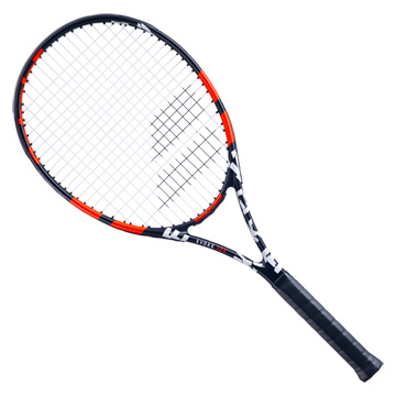 Babolat Evoke 105 Tennis Racket (Black-Orange)