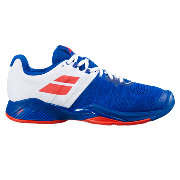Babolat Propulse Blast All Court Mens Tennis Shoes (Imperial Blue-White)