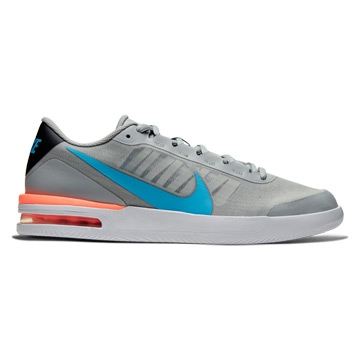 Nike Court Air Max Vapor Wing Mens Tennis Shoes (Smoke Grey-Blue Hero-Off Noir)