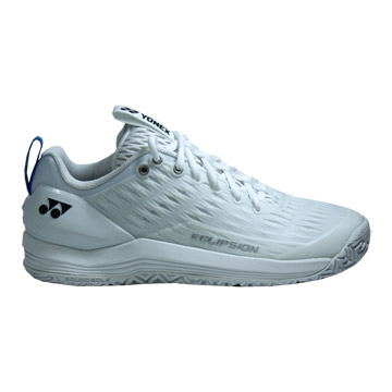 Yonex 75th Anniversary Power Cushion Eclipsion 3 Womens Tennis Shoes (White)