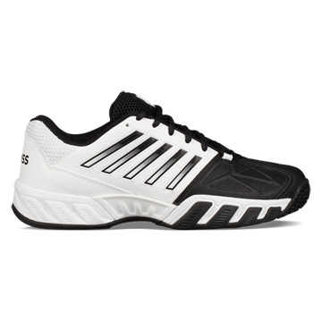 K-Swiss Bigshot Light 3 Omni Mens Tennis Shoes (White-Black)